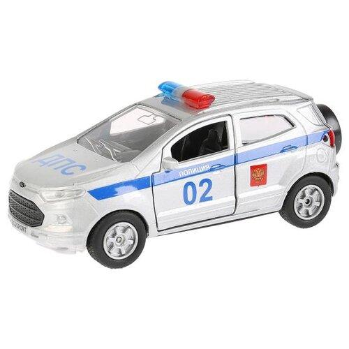 Купить Легковой автомобиль ТЕХНОПАРК Ford Ecosport (SB-18-21-P-WB) 12 см серебристый, Машинки и техника