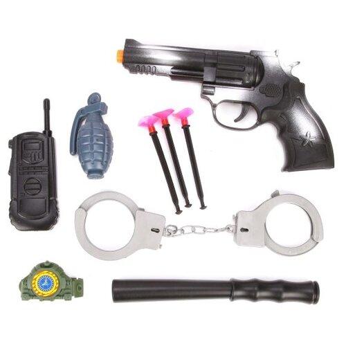 Купить Игровой набор Наша игрушка Полиция 1818-21, Полицейские и шпионы