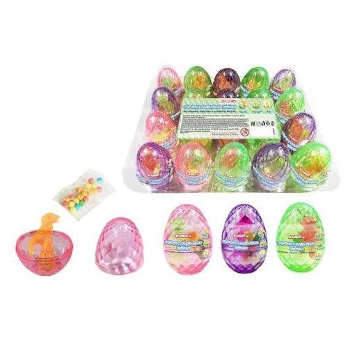 Драже с игрушкой Конфитой Хрустальное яйцо, 20 шт. 3 г ферреро яйцо шок с игрушкой киндер сюрприз база 20 г ферреро