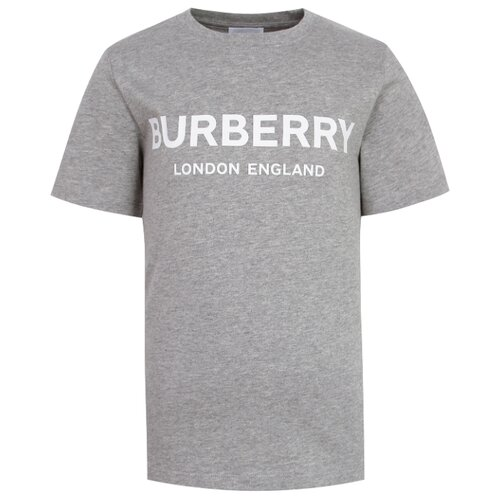 Футболка Burberry размер 104, серый футболка burberry 39624661