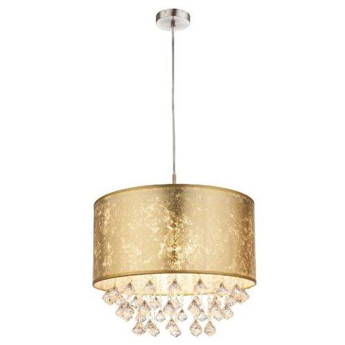 люстра потолочная globo amy 1х60вт e27 золотой Светильник Globo Lighting Amy 15187H3, E27, 60 Вт