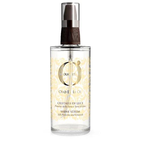 Купить Barex Olioseta Oro Di Luce Флюид с протеинами шелка и семенем льна Shine Serum Жидкие кристаллы для волос, 75 мл