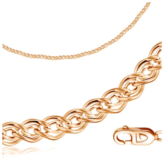 Бронницкий Ювелир Цепь из красного золота 110505001