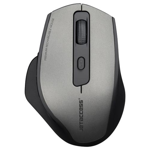 Беспроводная мышь Jet.A OM-R250G USB серый мышь беспроводная jet a comfort om u36g чёрный usb