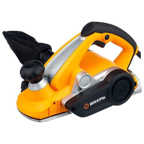 Электрорубанок ВИХРЬ Р-110СТ оранжевый/черный недорого