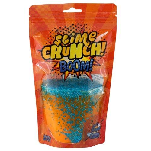 Жвачка для рук SLIME Crunch Boom с ароматом апельсина оранжевый