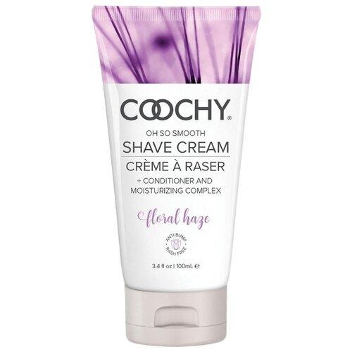 Купить Coochy Крем для бритья + кондиционер и увлажняющий комплекс Floral Haze 100 мл
