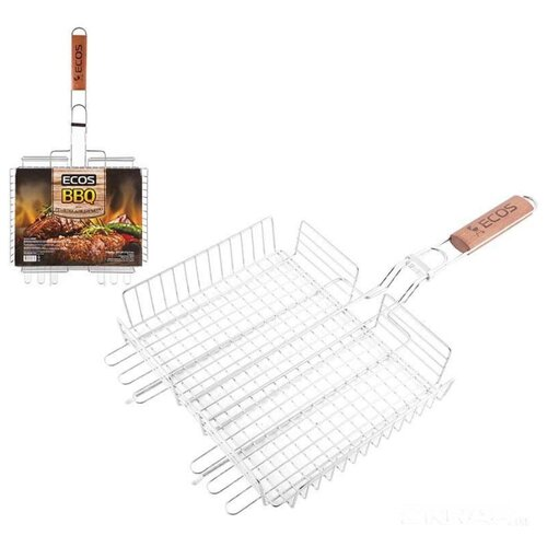 Решетка ECOS BASIC+ для барбекю, 31х24 см