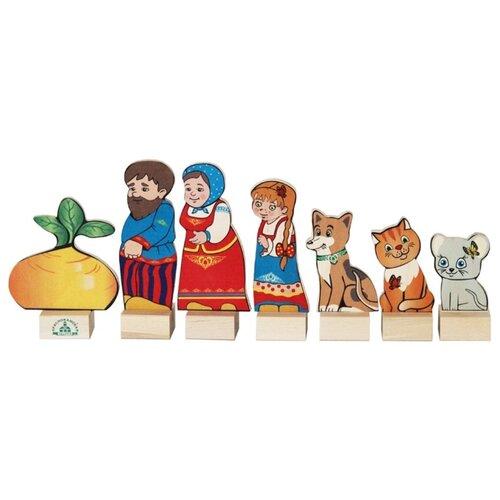 Краснокамская игрушка Кукольный театр из дерева Репка (Н-19) игрушка