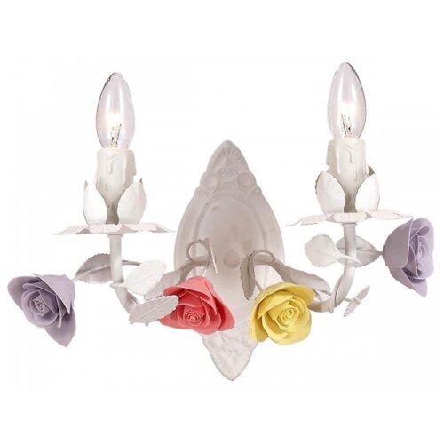 Фото - Настенный светильник Lucia Tucci Fiori di rose W185.2, 120 Вт настенный светильник lucia tucci ashanti w1250 2 blu