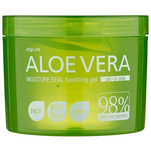 Купить Гель для тела Welcos Aloe Vera Moisture Real Soothing Gel, 500 мл