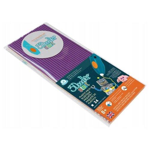 Эко-пластик пруток 3Doodler Start 3 мм фиолетовый