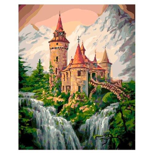 ВанГогВоМне Картина по номерам Сказочный замок, 40х50 см (ZX 21000) картина по номерам вангогвомне рыцарский замок