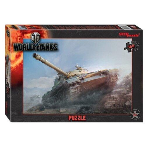 Пазл Step puzzle Wargaming World of Tanks (94091), 160 дет. пазл step puzzle степ пазл 1000 эл world of tanks 79604