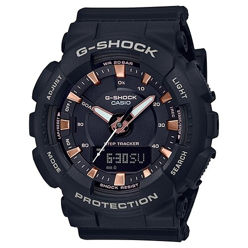 цена Наручные часы CASIO GMA-S130PA-1A онлайн в 2017 году