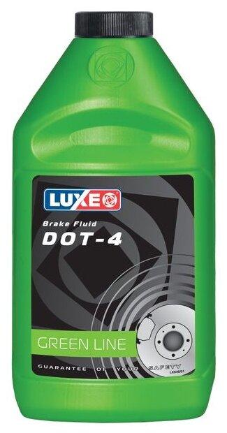 Тормозная жидкость LUXE DOT-4 0.46 л