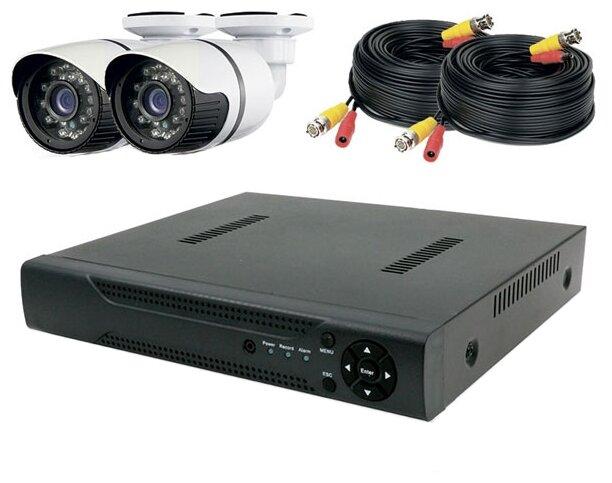 Комплект видеонаблюдения PS-Link KIT-C202HD 2 камеры