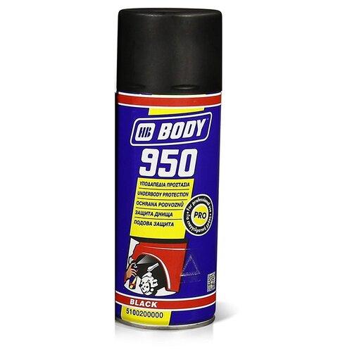 Антикор HB BODY 950 Aerosol 0.4 л баллончик черный