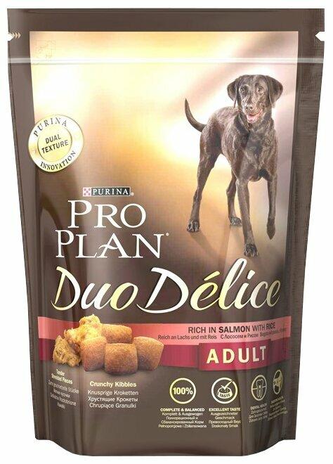 Корм для собак Purina Pro Plan Duo Delice лосось с рисом
