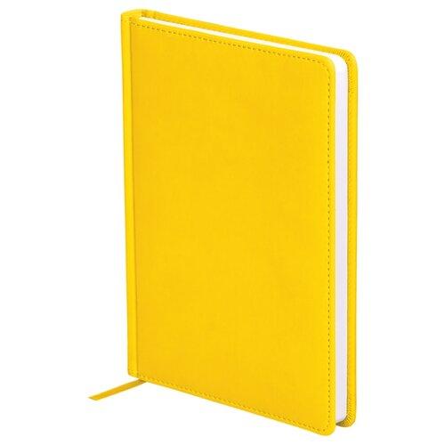 Ежедневник OfficeSpace Winner недатированный, искусственная кожа, А5, 136 листов, желтый ежедневник officespace winner недатированный искусственная кожа а5 136 листов розовый