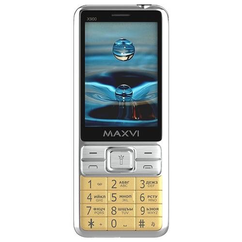 Телефон MAXVI X900 золотой телефон