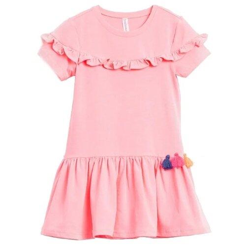 Платье COCCODRILLO размер 98, розовый