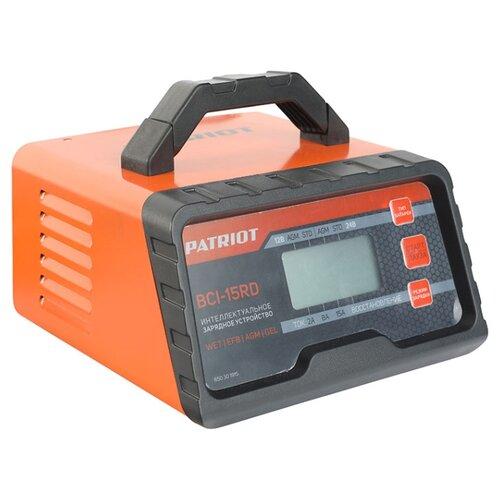 Зарядное устройство PATRIOT BCI-15RD черный/оранжевый зарядное устройство patriot gl 402 830201150