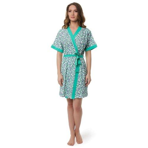 Халат Evelena размер XS зеленый платье oodji ultra цвет красный белый 14001071 13 46148 4512s размер xs 42 170
