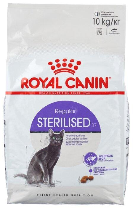 Корм для стерилизованных кошек Royal Canin 37 10 кг
