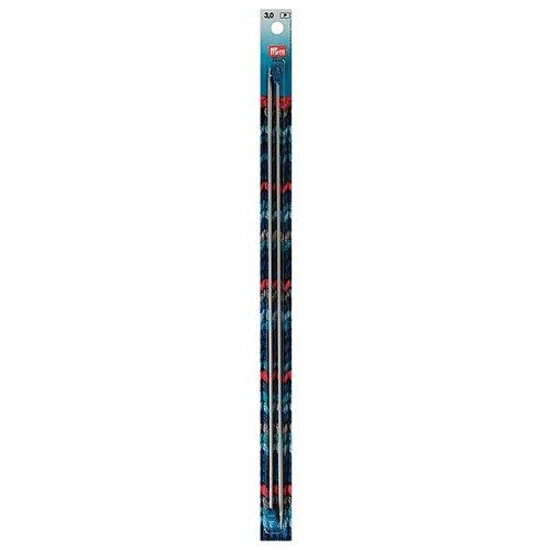 Спицы Prym алюминиевые, диаметр 3 мм, длина 35 см, серебристый
