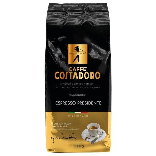 цена на Кофе в зернах Costadoro Espresso Presidente, арабика/робуста, 1000 г