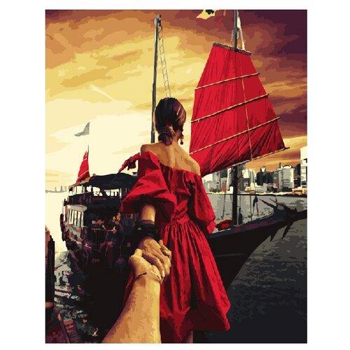 Купить ВанГогВоМне Картина по номерам Следуй за мной Гонг Конг , 40х50 см (ZX 20412), Картины по номерам и контурам