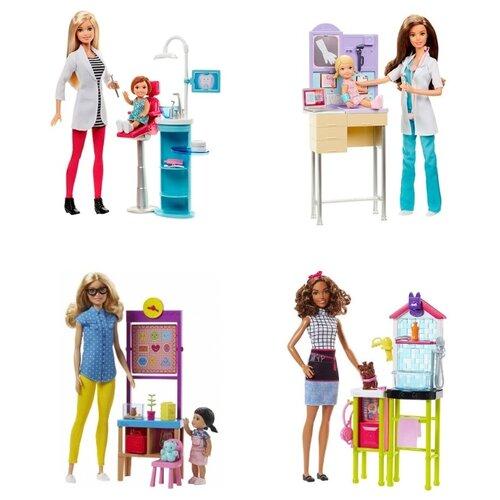 цена на Набор с куклой Barbie Кем быть? DHB63
