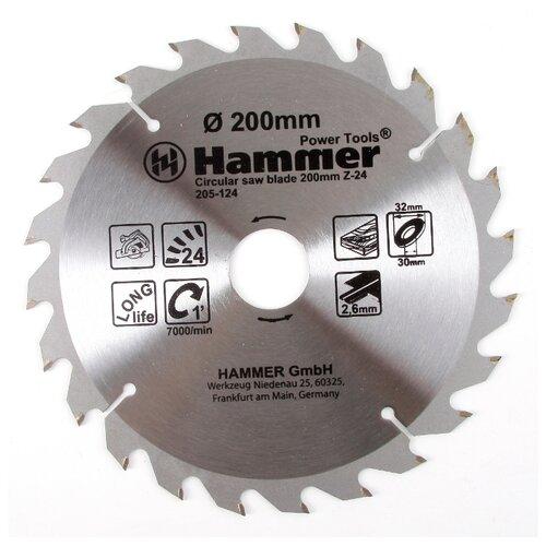 Пильный диск Hammer Flex 205-124 CSB WD 200х30 мм пильный диск hammer flex 205 106 csb wd 165х30 мм
