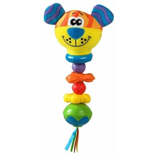 Купить Погремушка Playgro Twizzle Stick Rattle разноцветный, Погремушки и прорезыватели