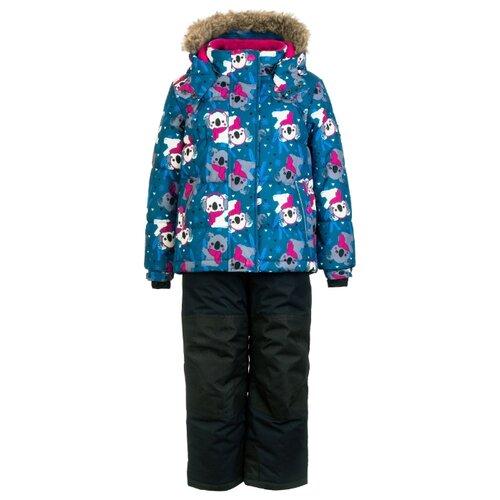 Купить Комплект с брюками Premont Панда Дао Мао WP81219 размер 110, blue, Комплекты верхней одежды