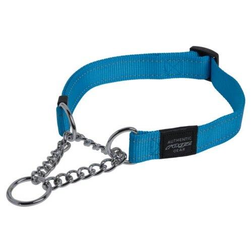Ошейник-удавка Rogz Utility L (HC06) 34-56 см голубой