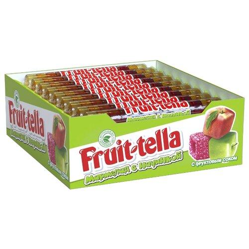 Жевательный мармелад Fruittella с начинкой ассорти (24 шт. по 52 г) конфитрейд дисней мармелад жевательный с игрушкой 5 г