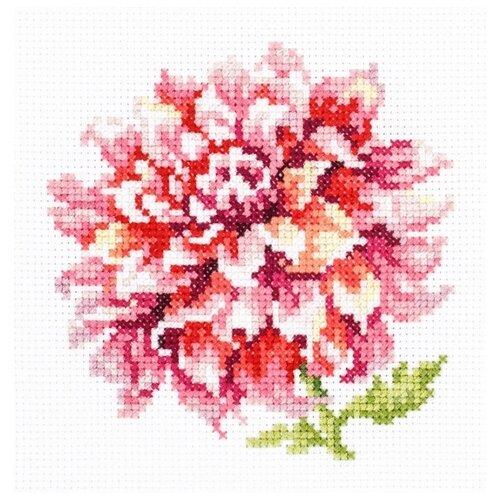 Купить Чудесная Игла Набор для вышивания Георгин 11 х 11 см (150-008), Наборы для вышивания