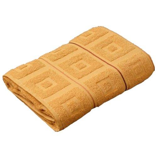 Аллегро полотенце Трио банное 70х140 см горчичный