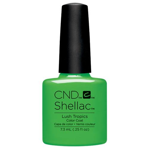 Купить Гель-лак для ногтей CND Shellac Paradise, 7.3 мл, Lush Tropics