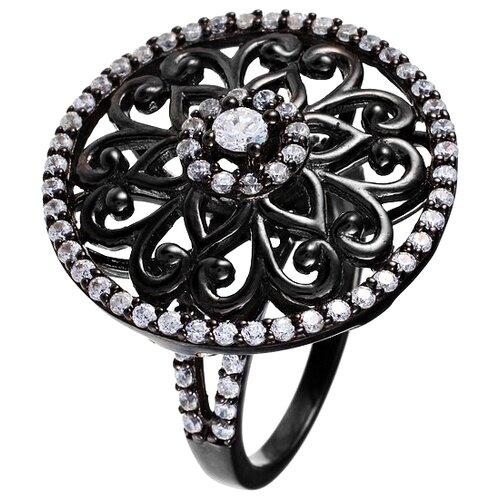 JV Кольцо с фианитами из серебра SR00083CZZSB-1-001-WG, размер 16.5 tamaris 1 1 23701 37 001