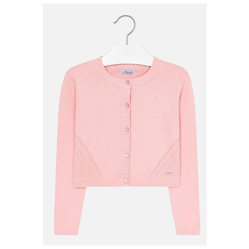 Купить Кардиган Mayoral размер 152, розовый, Свитеры и кардиганы
