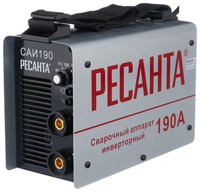 Сварочный аппарат РЕСАНТА САИ-190 (MMA)