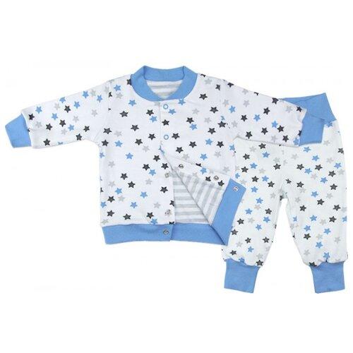 Комплект одежды Топотушки размер 74, голубой, Комплекты  - купить со скидкой