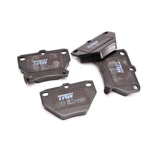 Дисковые тормозные колодки задние TRW GDB3243 для Toyota (4 шт.)