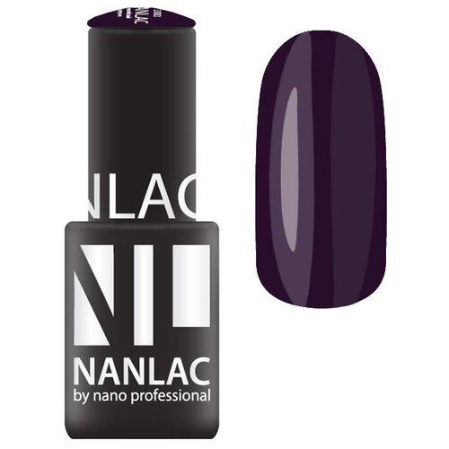 Купить Гель-лак для ногтей Nano Professional Back to black, 6 мл, оттенок NL 2185 black violet