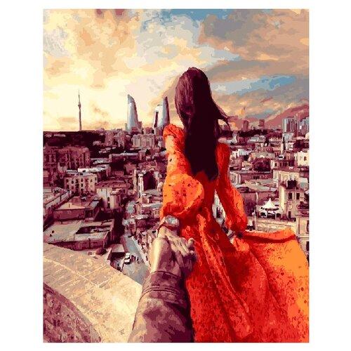 Купить ВанГогВоМне Картина по номерам Следуй за мной. Баку. Азербайджан , 40х50 см ( ZX 20676), Картины по номерам и контурам