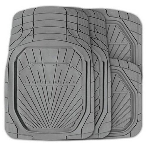 Комплект ковриков AUTOPROFI MAT-510 4 шт. серый