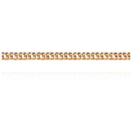 АДАМАС Цепь из золота плетения Ромб двойной ЦР235А2-А51, 45 см, 3.22 г